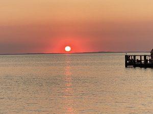 stress af - se på solnedgang